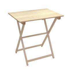 Mesa de madera plegable 75x45cm