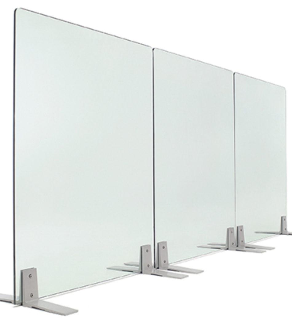 Biombo de cristal