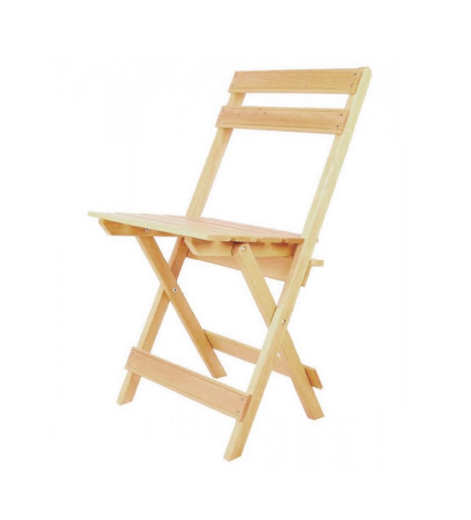 Silla de madera plegable 2