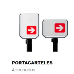 Señalizadores para postes cinta retráctil